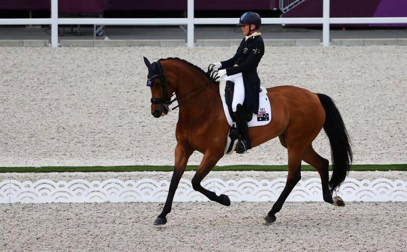 史上第2年长奥运参赛者66岁女骑手:望参加巴黎奥运会_电子游艺官网