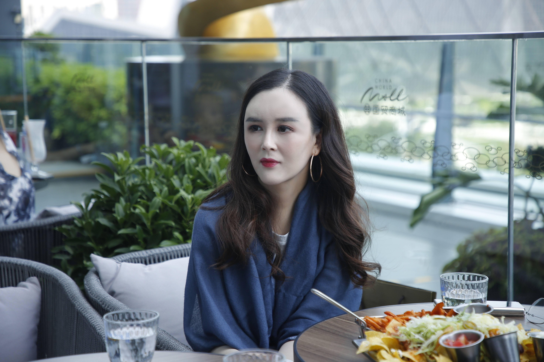刘竞导演下午茶话会,恬静温柔极具美感