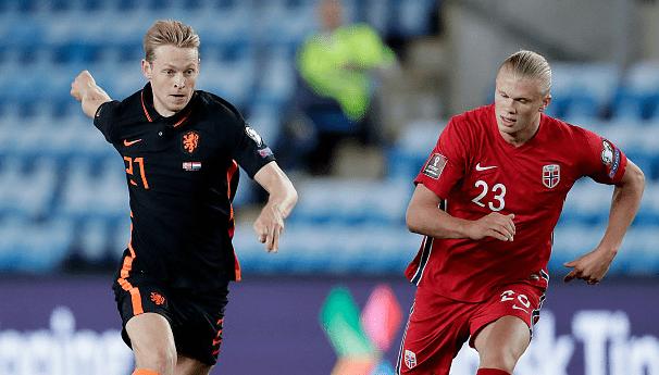 世预赛-哈兰德破门克拉森建功 荷兰1-1客平挪威