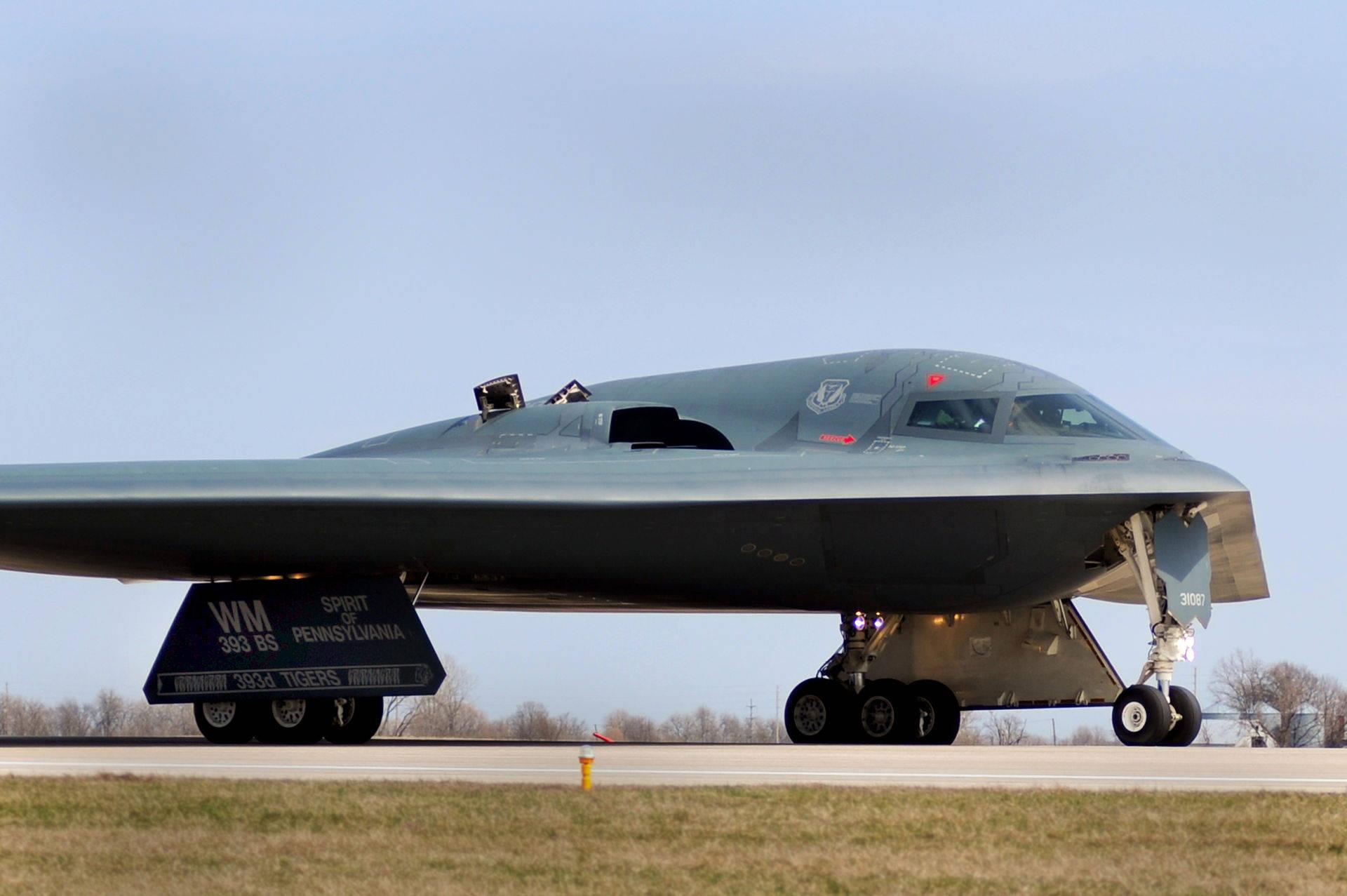 "B-2""幽灵""隐身轰炸机不轻易出动的3个理由6iu"