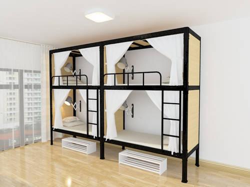 揭阳高低铁架床外形设计采用六边形,美观使用