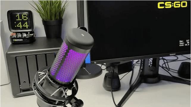出彩,因为专业——HyperX Quadcast S声浪加强版游戏麦克风