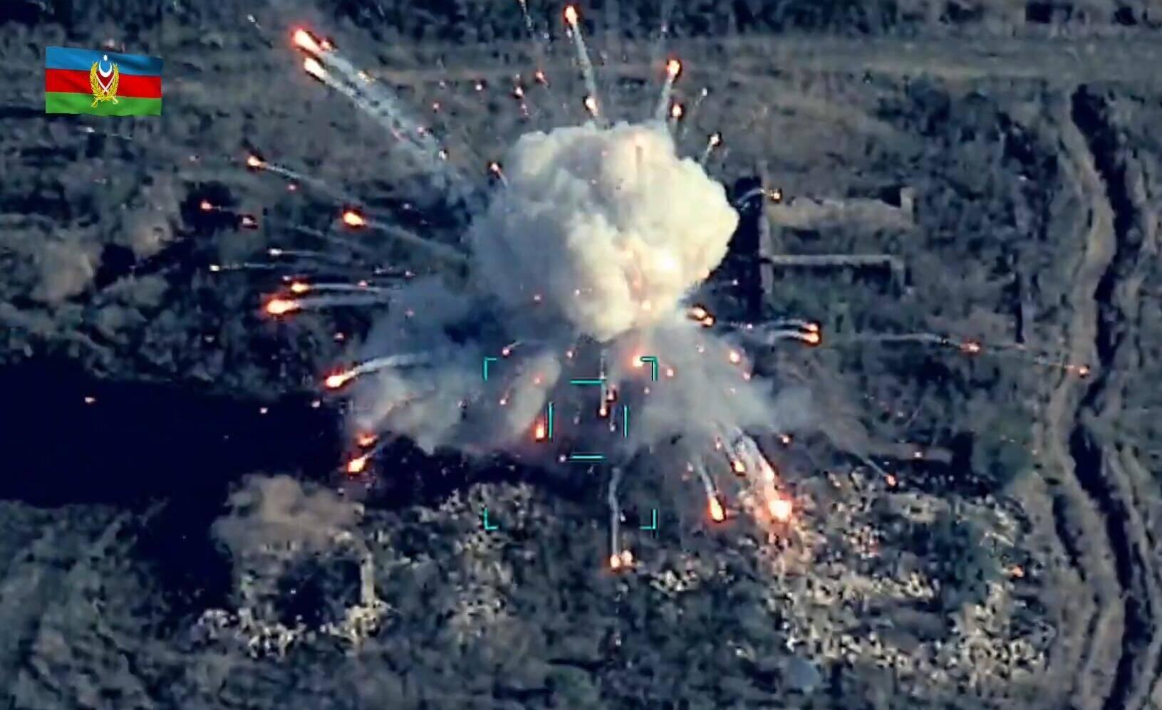 恒达官网外媒:阿塞拜疆称击中亚美尼亚导弹发射场