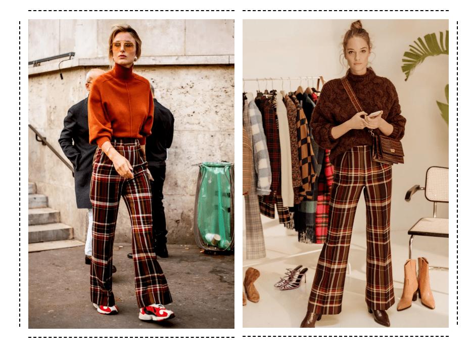 大毛衣+阔腿裤 才是秋冬最慵懒时髦的打开方式!