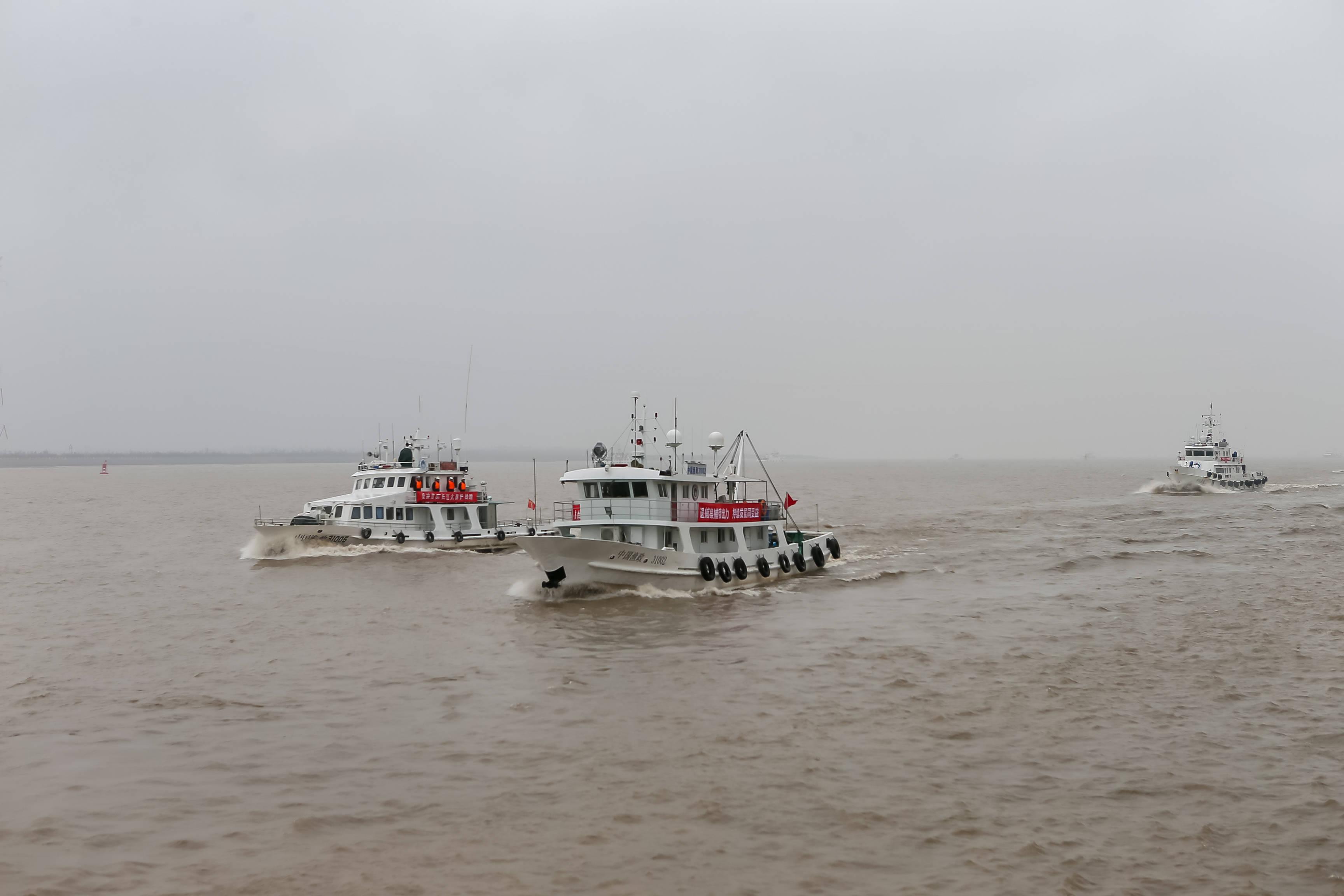 长江口禁捕力度加强 农业农村部启动专项整治行动