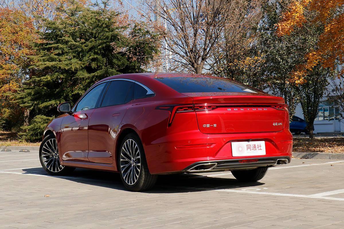 國民家轎煥新生 第三代奔騰B70起售價9.99萬元