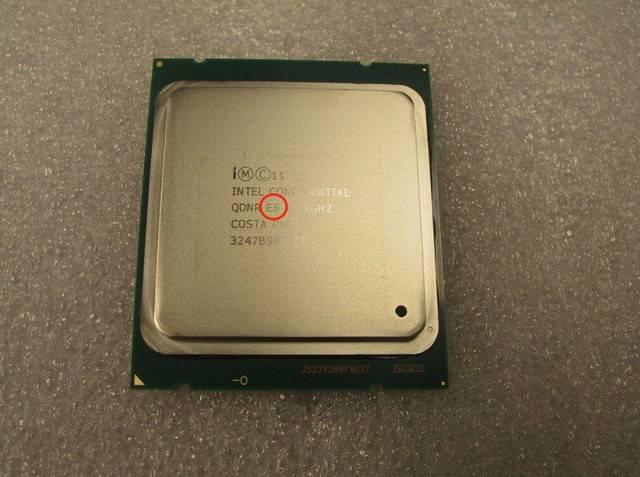 详解CPU散片:QS、ES是什么意思?的照片 - 3
