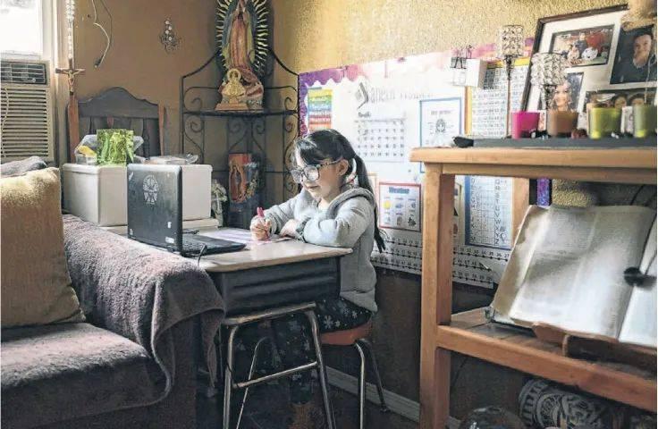 外刊   疫情之下,美国多地中小学面临师资短缺
