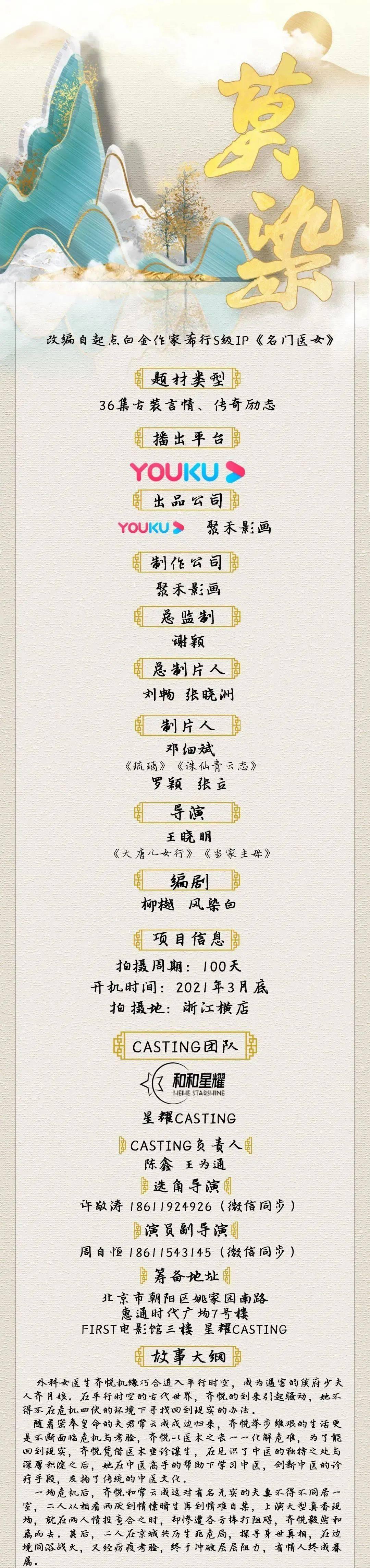 组讯日报|剧集《落水者》,电影《东游2》等