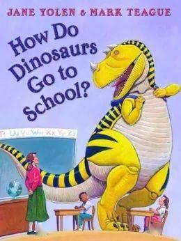 【百本好书推荐 ·第95期】《恐龙如何去上学?》