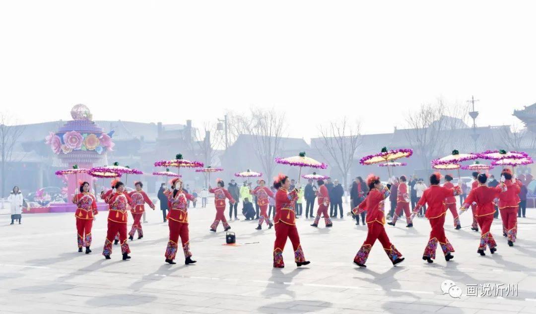 中国年在忻州:忻州古城真红火  第13张