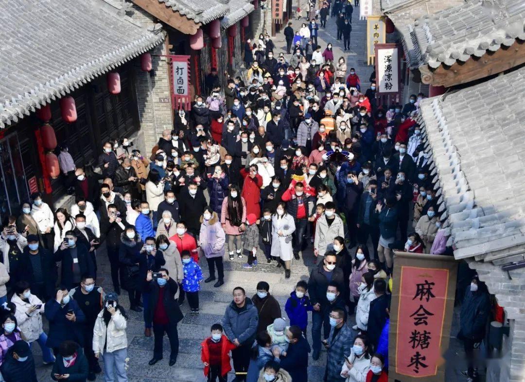 中国年在忻州:忻州古城真红火  第33张