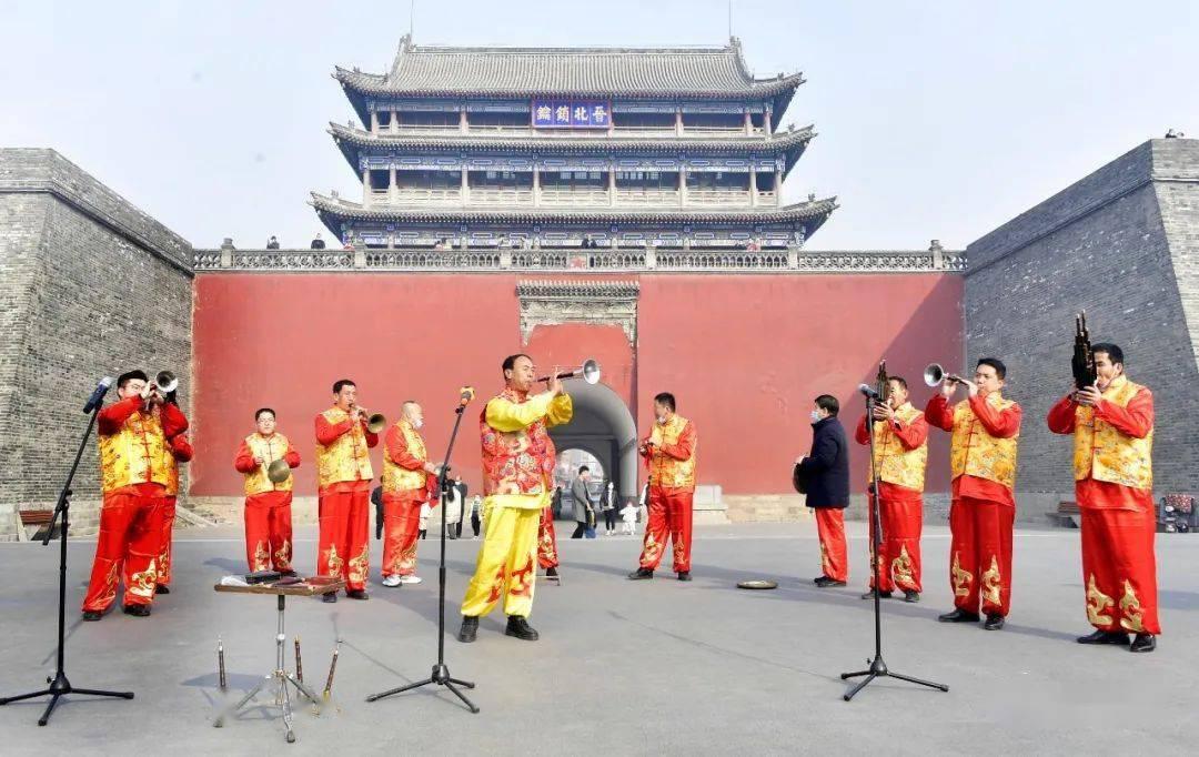 中国年在忻州:忻州古城真红火  第3张
