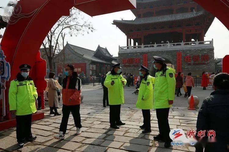 """中国年在忻州 千年古城""""警""""色迷人  第4张"""
