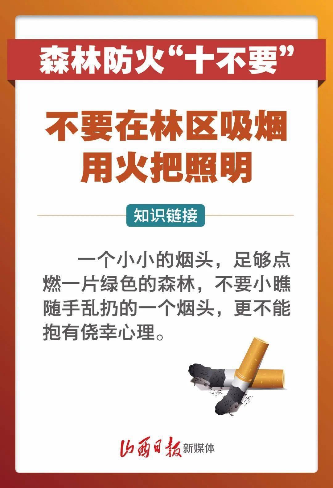 """海报丨""""十不要""""!春季森林防火,我们必须记牢  第2张"""