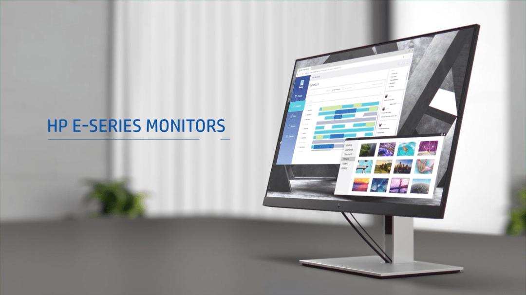 惠普E23 G4全高清显示器,品质卓越,是您办公的好助手!
