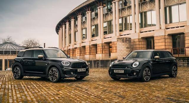 MINI发布了两款特别版车型。黑化设计更酷