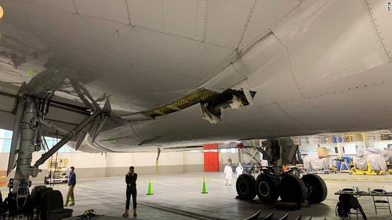 美联航客机发动机故障初步调查出炉 与金属疲劳有关