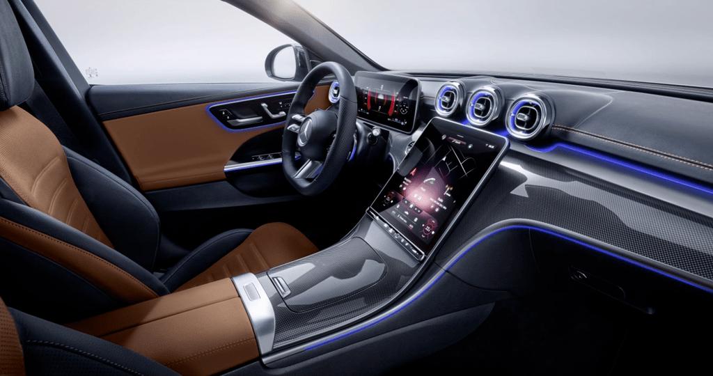 30万梦想s级?新款奔驰c级发布,S级内饰还搭载了第二代MBUX