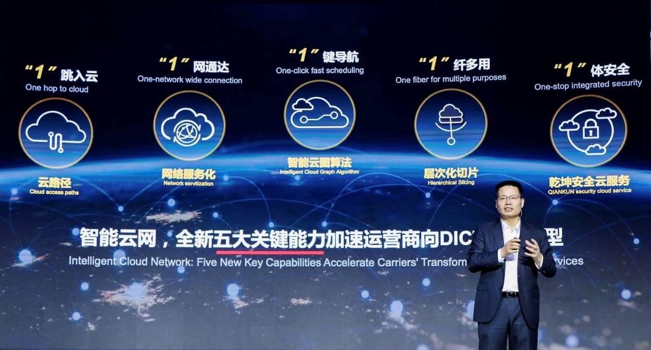 华为发布智能云网解决方案新能力,加速运营商向DICT服务转型