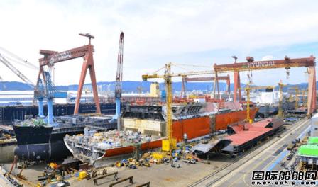 现代重工防病毒传染船舶设计获KR认证