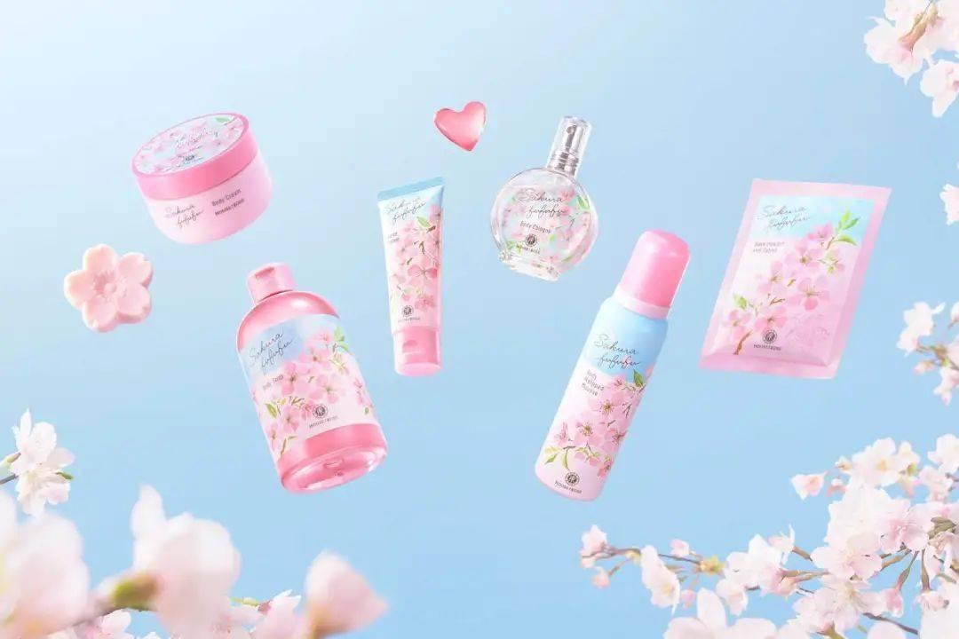超甜的樱花限定来了~居然开架品牌赢了!
