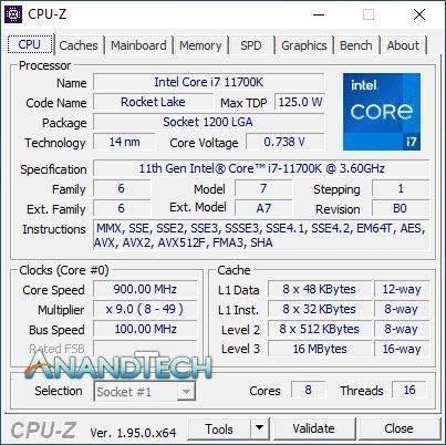 Intel 11代酷睿i7-11700K评测:性能猛增20%、功耗/温度爆炸的照片 - 3
