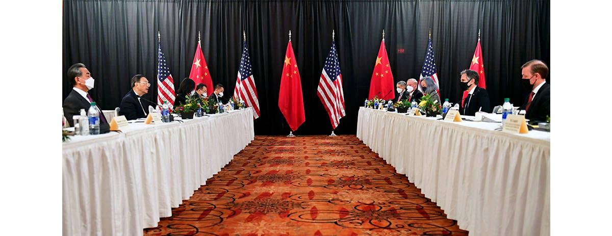 外交部部长在中国与美国高层住宅发展战略会话开场词中表明我国相