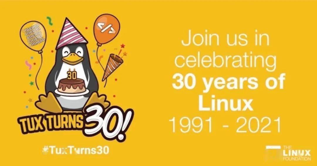 Linux 公仔已 30岁 了,来了解一下小企鹅 ' Tux ' 吧!