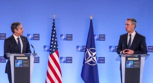 """布林肯访欧,向北约和德国强调美国反对""""北溪-2""""项目"""