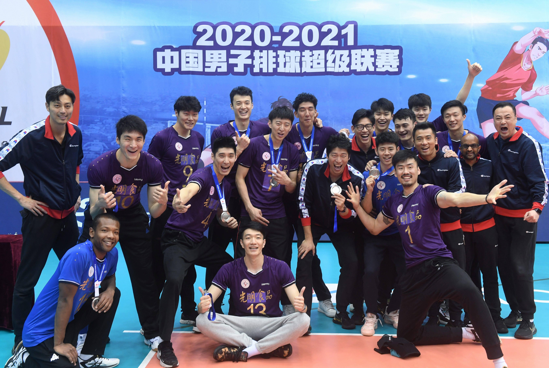 排球——男排联赛决赛:上海队获亚军