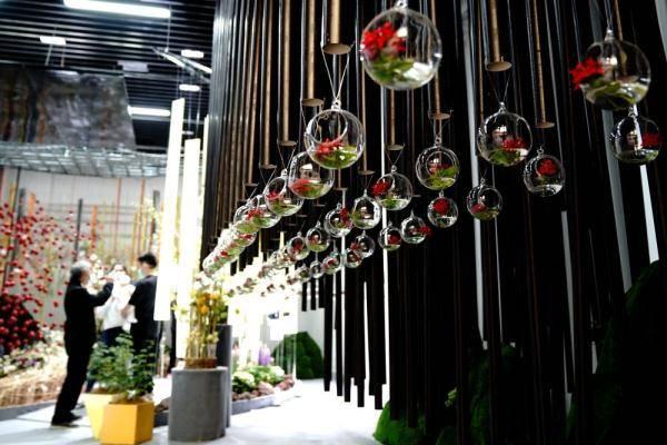 2021上海(国际)花展开幕