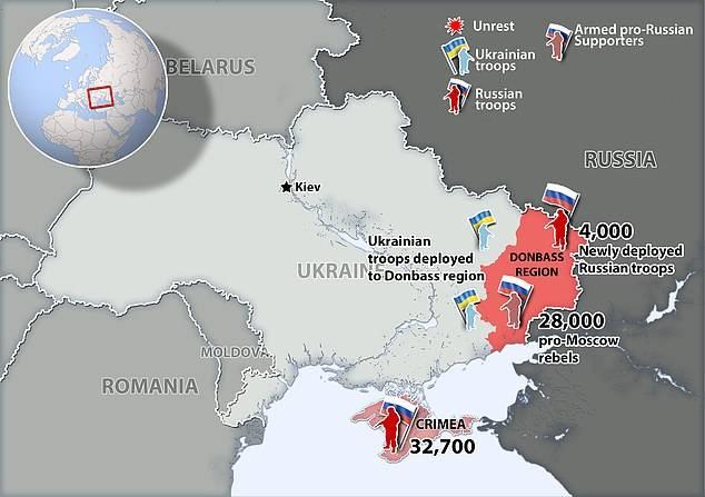 """俄警告北约勿出兵乌克兰,否则将""""采取额外措施保卫安全"""""""