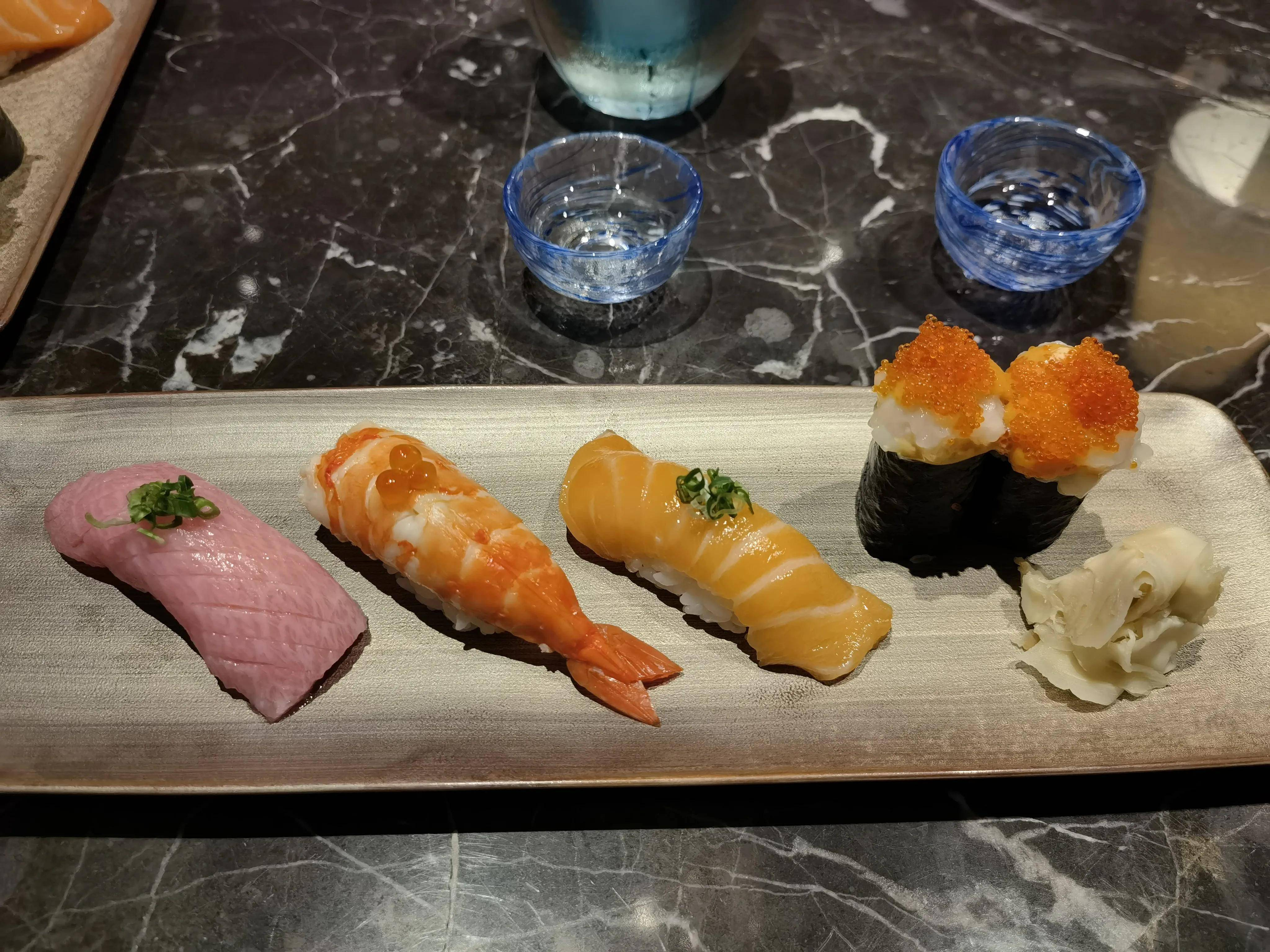 #开始记日记#1528 107层楼上吃顿日本料理