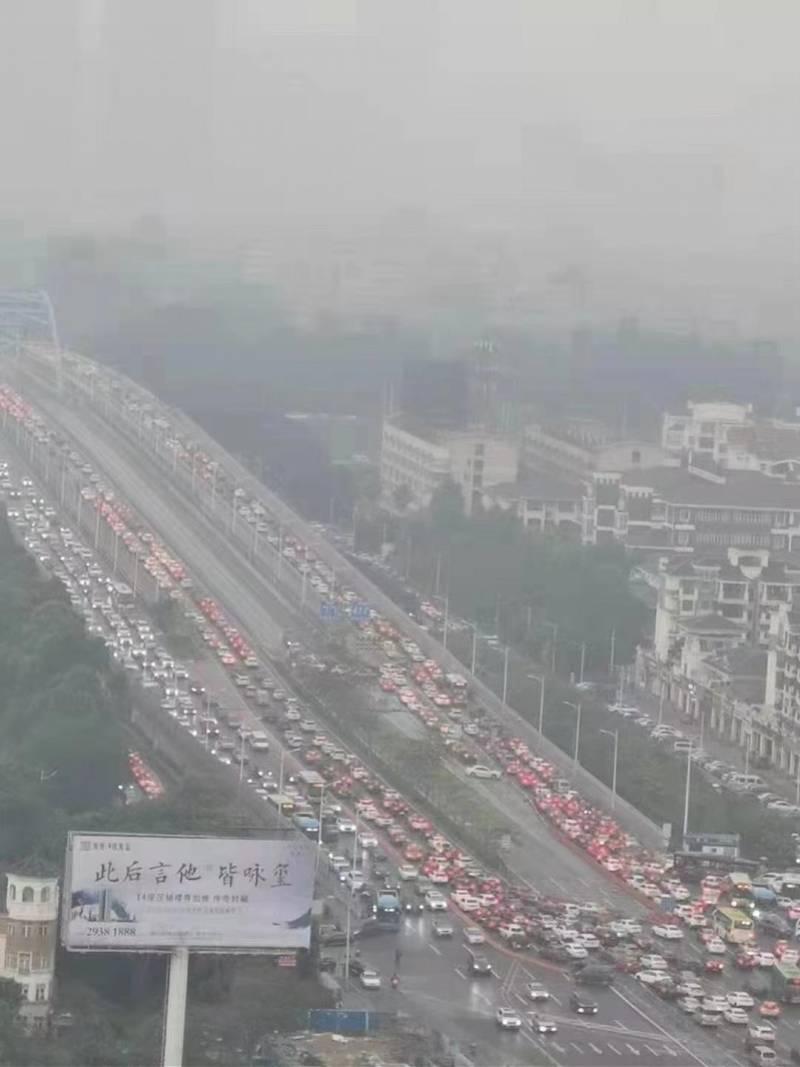 今天早晨被塞佛陈大桥?拥挤缘故和疏通计划方案都发布了