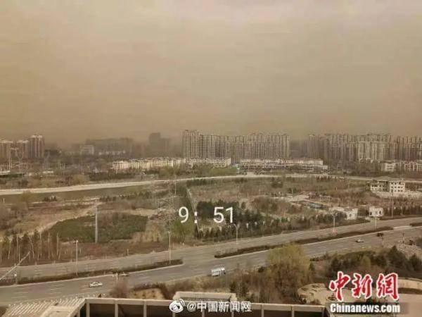 北方沙尘又起:7分钟遮住一栋楼!上海明后天将现浮尘,周六凌晨到上午影响最大