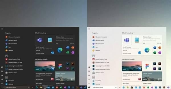 Win10 21H2新UI来了:微软新设计更美观