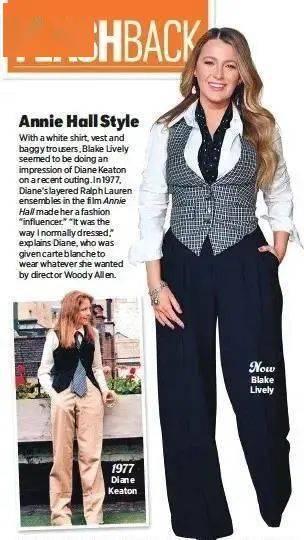 衣品||75岁还是最酷的女神 如何穿成戴安·基顿? 爸爸 第17张