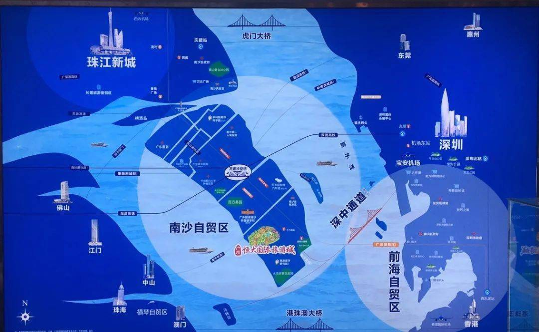 牛炸了!广州恒大国际旅游城,首次曝光......