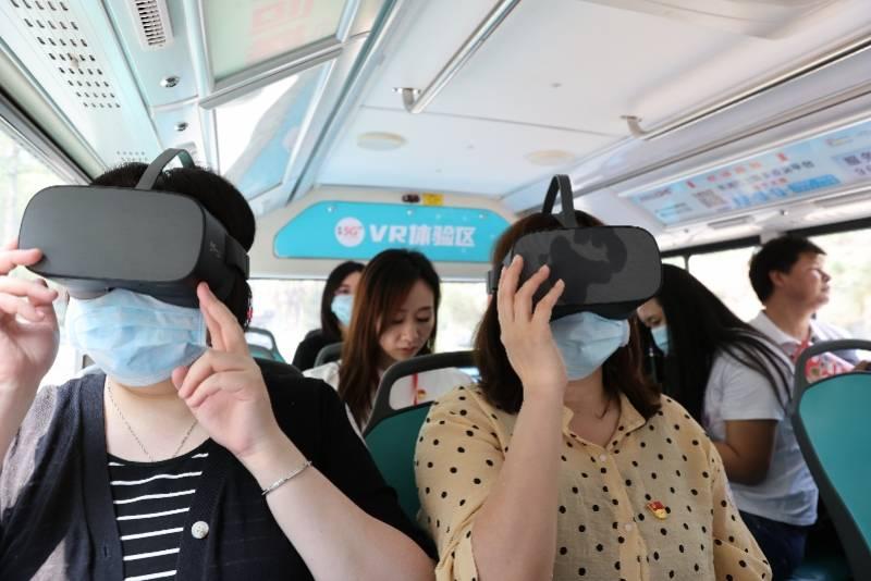 东莞虎门开通5G公交,能游览美景还有VR展示,五一来尝鲜
