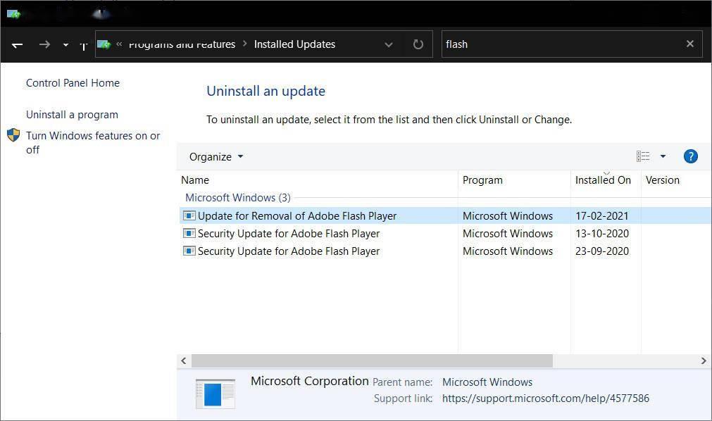 """微软 Win10""""星期二补丁""""更新将在 7 月完全删除 Flash Player"""