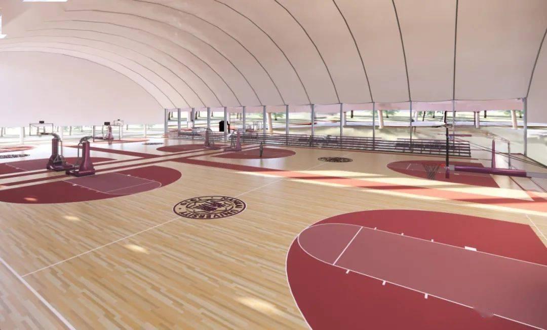 获捐1000万! 南开大学西区篮球场升级!