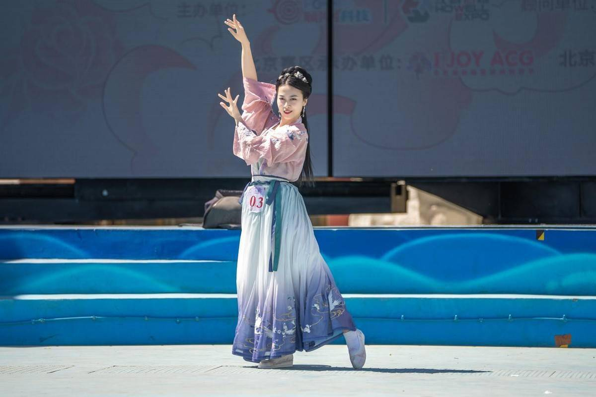 2021ChinaJoy洛裳华服·新秀大赛,北京赛区晋级赛圆满落幕 展会活动-第15张