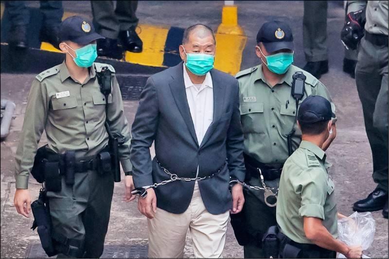 鸿图2注册黎智英涉勾结外力危害国安案今提堂 最高可判终身监禁