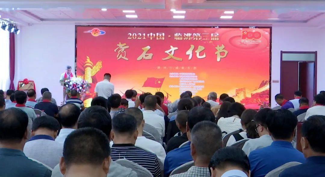 临洮第三届赏石文化节开幕