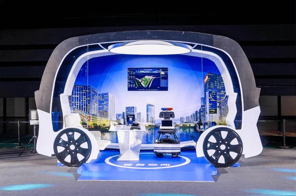 百度Apollo自动驾驶小巴阿波龙Ⅱ