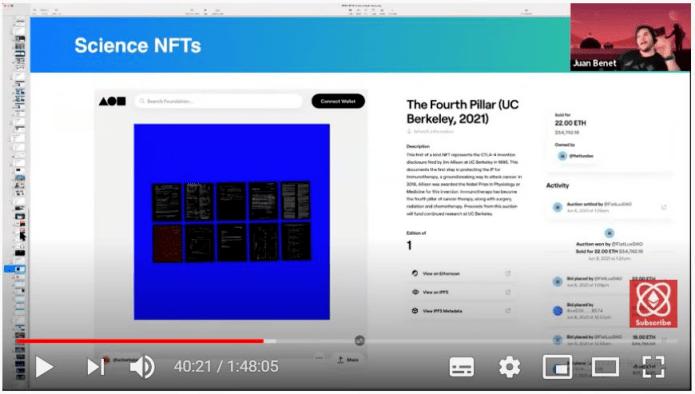 胡安HackFS最新发言: NFT势不可挡或促进人类社会发展金融化  第3张 胡安HackFS最新发言: NFT势不可挡或促进人类社会发展金融化 币圈信息