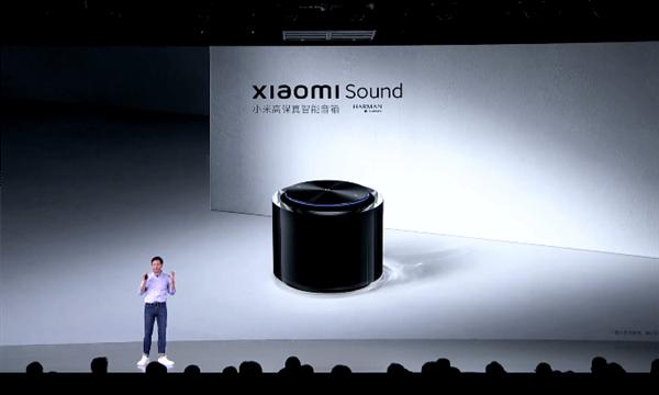 499元!小米发布首款高端智能音箱 雷军:小米最好看音箱