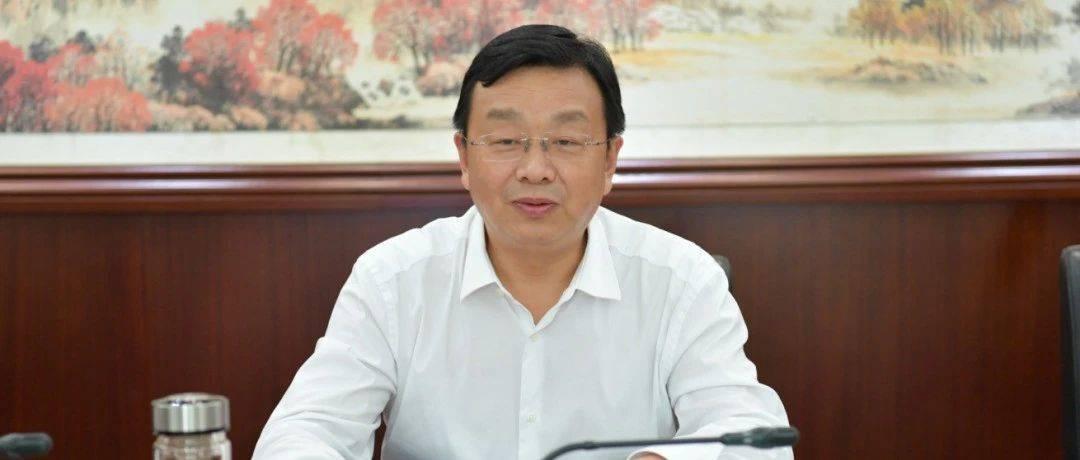 吴祖云与中国人保财险湖北省分公司党委书记夏学东座谈