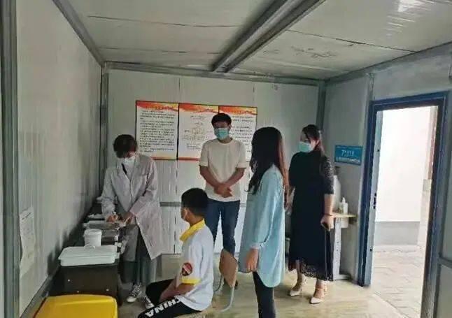 【县区动态】洮北区铁路第一小学开展新冠疫情防控安全演练